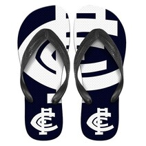 Carlton Blues AFL Beach Thongs