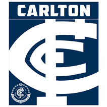 AFL Polar Fleece Rug Carlton Blues