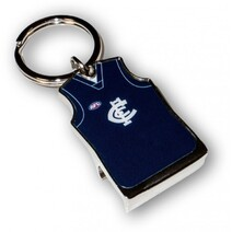 AFL Guernsey Bottle Opener Carlton Blues