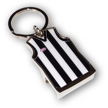 AFL Guernsey Bottle Opener Collingwood Magpies