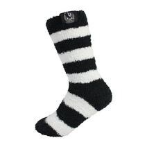 AFL 1PR Bed Socks Collingwood Magpies