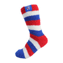 AFL 1PR Bed Socks Western Bulldogs