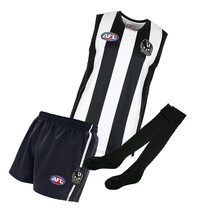 Collingwood Magpies AusKick Pack (Guernsey, Short and Socks)