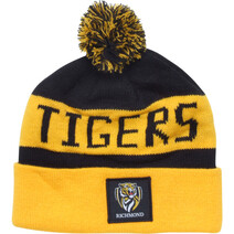 Richmond Tigers Bar Beanie