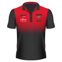 Essendon Bomber ISC AFL Mens Performance Polo