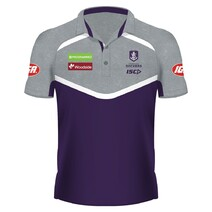 Fremantle Dockers 2018 ISC Mens Performance Polo Shirt