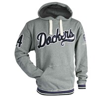 AFL Mens Script Pullover Hood Fremantle Dockers