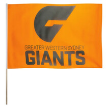 Greater Western Sydney Giants - Classic AFL Pole Team Flag Large 60 x 90