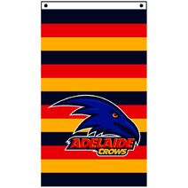 AFL Supporter Wall Flag 90X150 Adelaide Crows