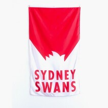 AFL Supporter Wall Flag 90X150 Sydney Swans