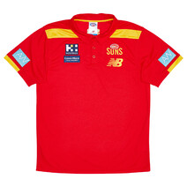 Gold Coast Suns New Balance 2021 Mens Media Polo