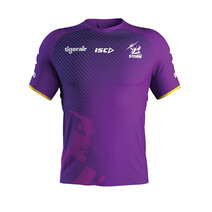 Melbourne Storm 2020 Mens Training Tee Purple/Navy