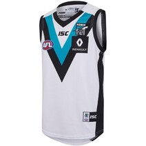 Port Adelaide Power 2017 ISC Mens Away Guernsey