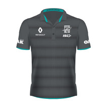 Port Adelaide Ladies Player Polo Carbon
