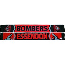 Essendon Bombers Cleave Jacquard Scarf