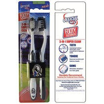 AFL Toothbrush Twin Pack Collingwood Magpies
