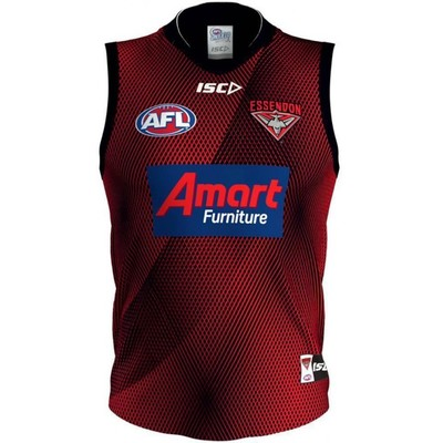 Essendon Bombers 2019 AFL Mens Training Guernsey