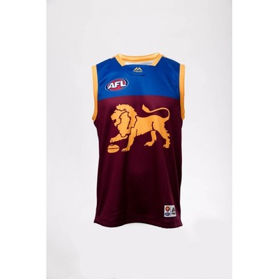 Brisbane Lions Replica Guernsey Home 2019 [Size: S]