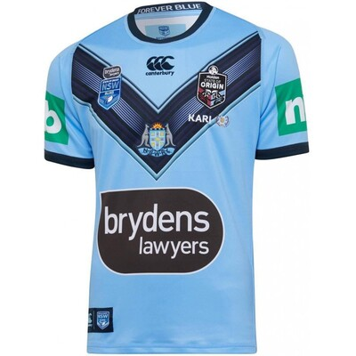 NSW Blues 2020 SOO Mens Pro Jersey [Size: S]